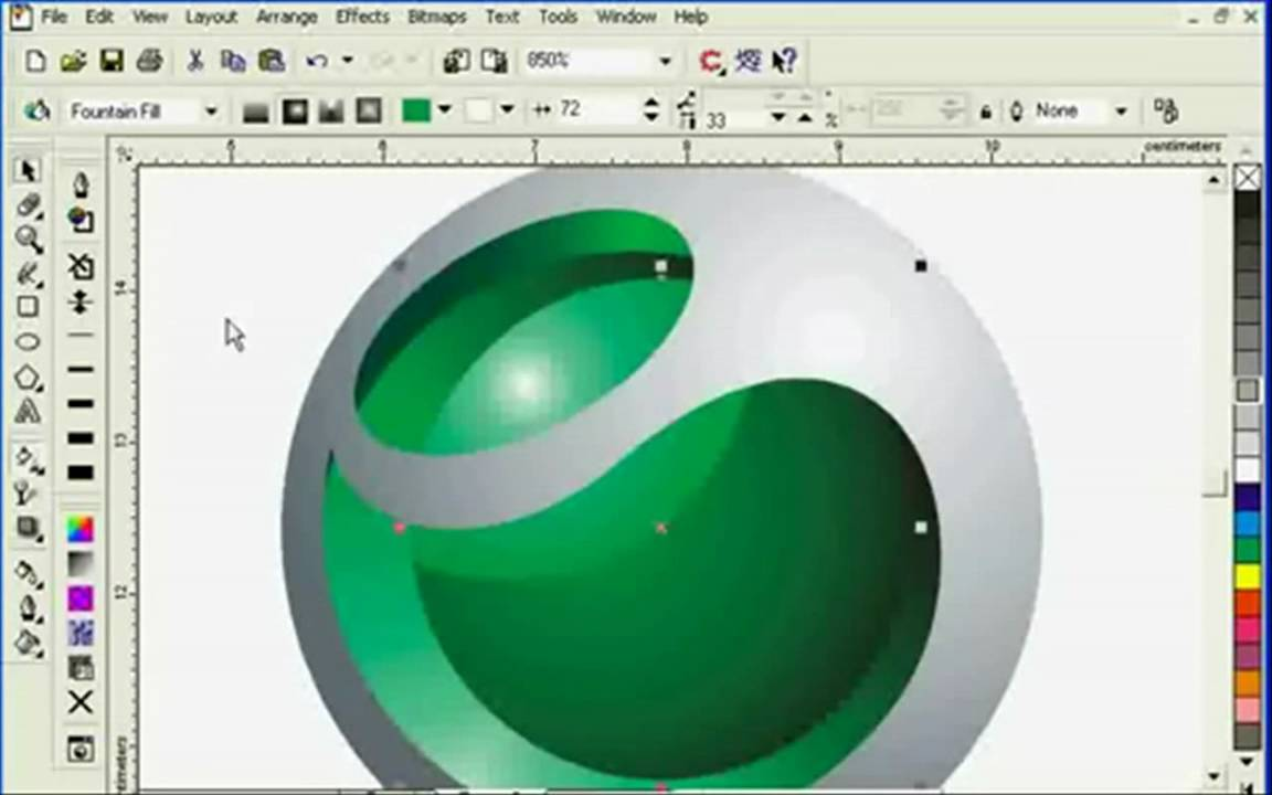 Sony Ericsson Coreldraw Youtube