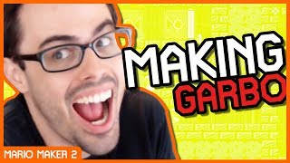 "Mario Maker Physics are WEIRD! (Evil ""RNG"" Setup 😈)"
