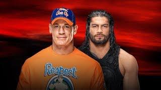 WWE No Mercy - John Cena vs Roman Reigns