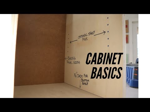 The Basics of Making Cabinets