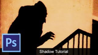 Adobe Photoshop CS6 How To Create A Shadow [ Tutorial ]