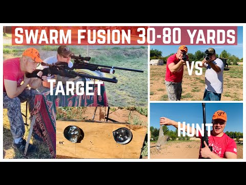 GAMO Swarm Fusion DISTANCE TEST: 30-80 Yards and VS PCP Rifle!