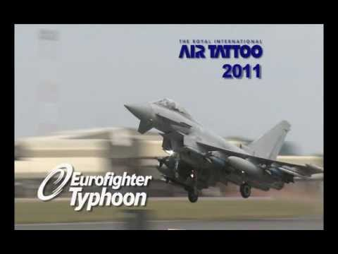 EADS - Eurofighter Typhoon At Air Tattoo 2011 [480p]