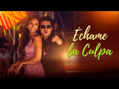 Deyvis Orosco - Échame La Culpa ft. Jazmin Pinedo (Video Oficial)