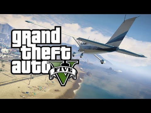 GTA V NEWS: New AMAZING screenshots! BEACHES, ROBBERIES AND MORE!