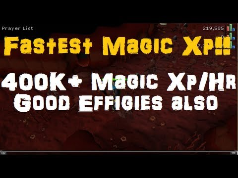 [Fastest + Easy] 400K+ Magic Xp/Hour – Good Effigy Method Also – EoC Runescape