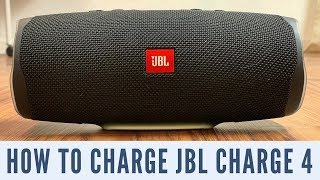 How to Charge JBL Charge 4