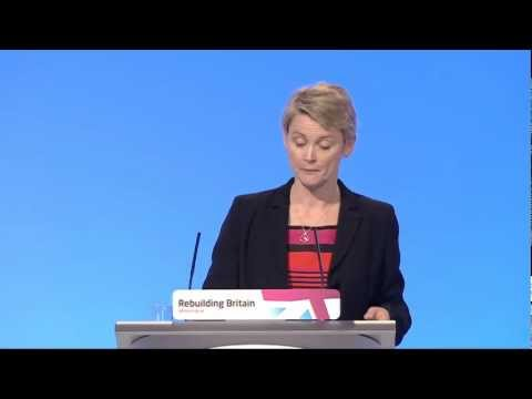 Yvette Cooper's speech to Labour Party Annual Conference 2012