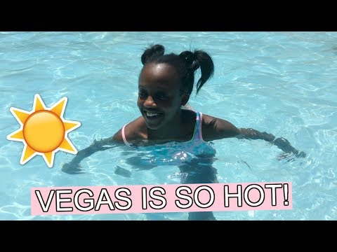 It was 115 degrees outside? | Vegas is So Hot!