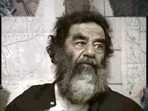 اخر ما قاله الرئيس القائد صدام حسين  سري