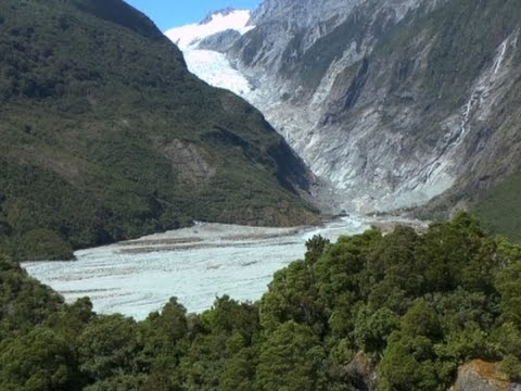 Melting Glaciers Concern for New Zealand Tourism