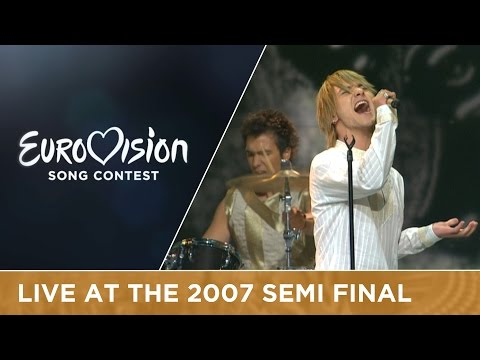 Stevan Faddy - Ajde Kroci (Montenegro) Live 2007 Eurovision Song Contest