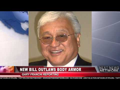 New Bill Outlaws Body Armor