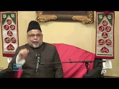 6th Shaban 2018   Maulana Sadiq Hasan