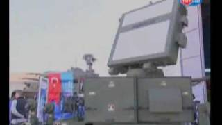 Aselsan Hava Savunma Radarı - Kalkan / Turkish Defence Industry - Air Defense Radar