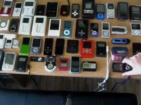 Retro MP3 Digital Player Collector - My Collection So Far