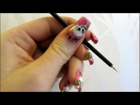 How to Paint Your Opposite Hand Nails in Nail Art
