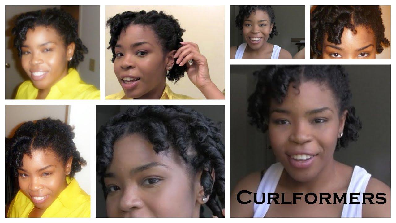 Curlformers on Short Natural Hair Hair 101 Curlformers on Short