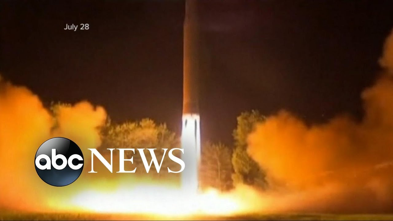 New ballistic missile launched from North Korea