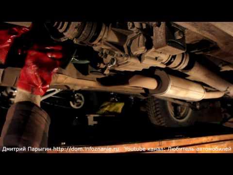 Видео как проверить масло в коробке Нивы Шевроле