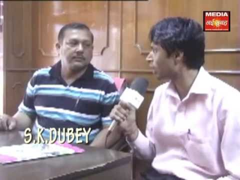 S K Dubey Director of Educational Consultancy coverage by Media Nai Subah