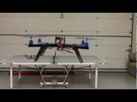 ArduPilot ArduCopter APM 2.5 Configuration with Turnigy 9X Transmitter and Receiver for Quadcopter