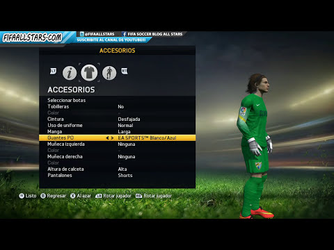 FIFA 15 Guantes de Portero