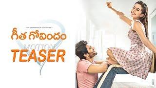 Vijay Devarakonda's Geetha Govindam Motion TEASER | #GeethaGovindam | Rashmika Mandanna | filmylooks