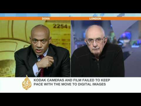 Barry Fox speaks about Kodak's bankruptcy protection filing