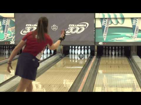 Can Stefanie Johnson throw two strikes to stay alive at the 2016 USBC Queens?