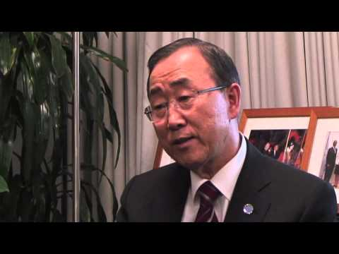 General Assembly - Behind the scenes with UN Secretary-General Ban Ki-moon
