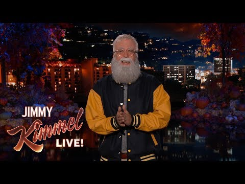 Dave Grohl's Guest Host Monologue on Jimmy Kimmel Live