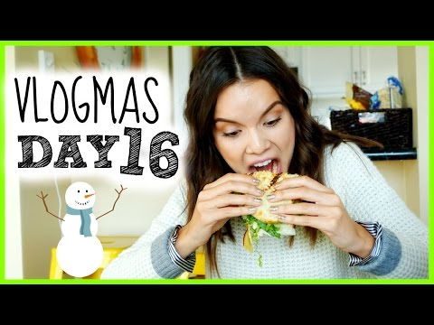 Sandwich Monster Attacks! ❄ Vlogmas 16, 2014 video