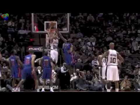 San Antonio Spurs Highlights Jan. 2010 Video
