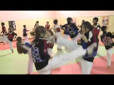 The Kyrgyz Republic Taekwondo WTF Training Image 1