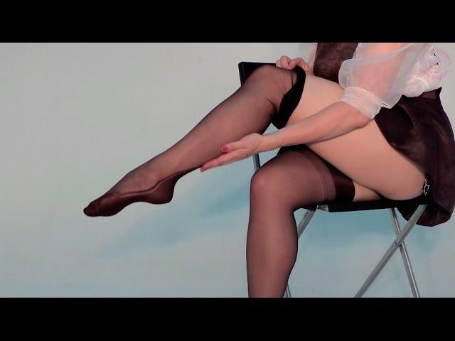 Колготки порно в нейлоне онлайн 15