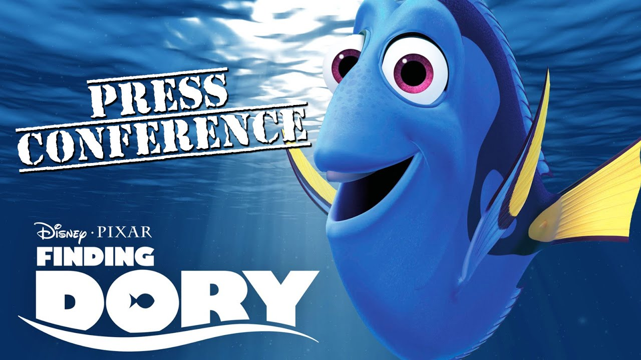 FINDING DORY's cast reveals interesting facts about the movie | Global Press Conference [HD]