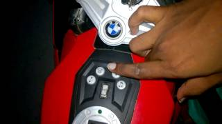 BMW k 1300s KIDS BIKE full review