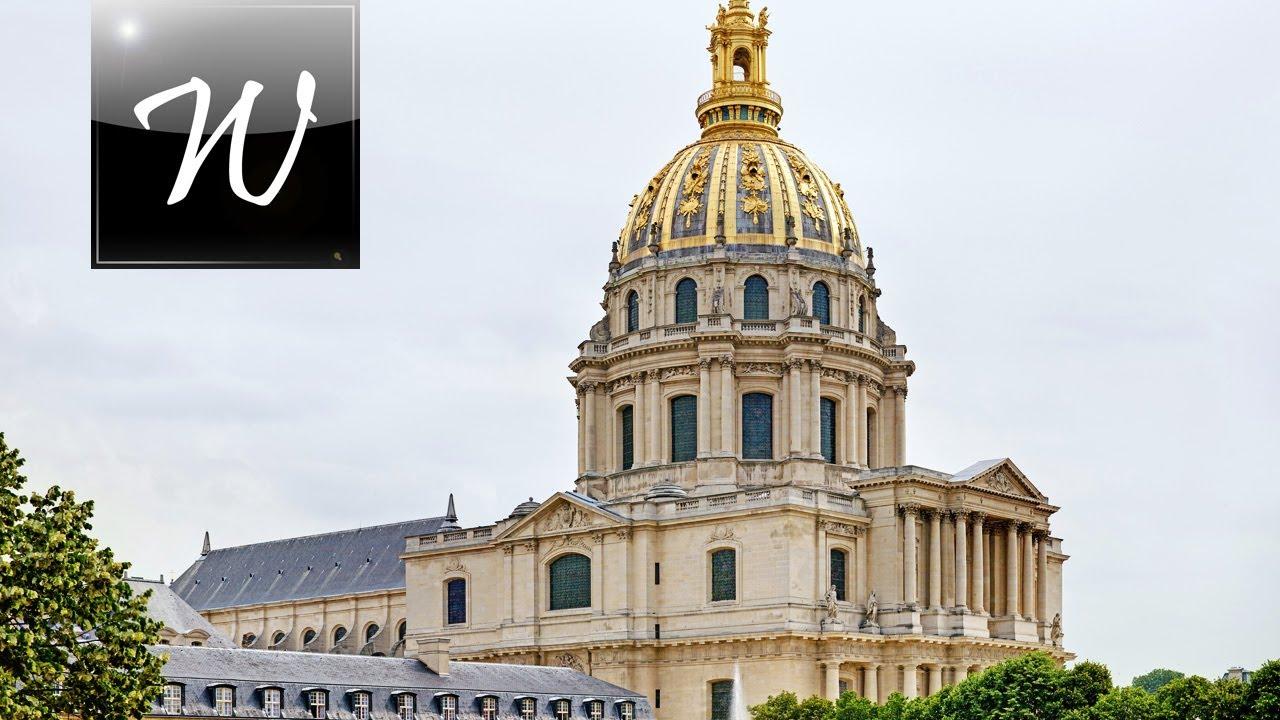 Les Invalides The Dome  Paris  Hd