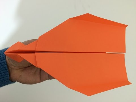Paper Airplanes - How To Make A Paper Airplane - Best Paper Airplanes In The World / Model - 008