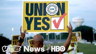 Nissan Workers In Mississippi Say No To Union (HBO)  from VICE News