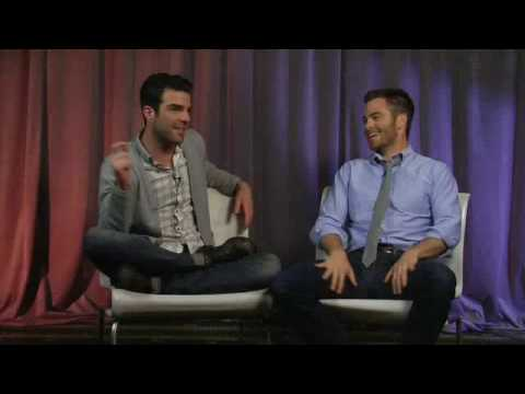 Star Trek Zachary Quinto & Chris Pine - Artist on Artist