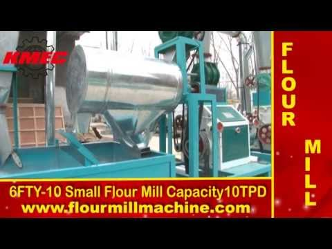 Small flour mill machine making wheat flour, build flour mill plant.