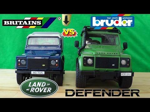 Britains Vs Bruder 1:16 Land Rover Defender: Final Round