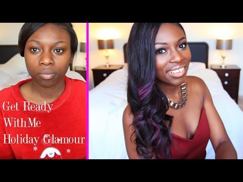 GET READY WITH ME| 'BEYONCE PARTY' LOOK WITH PINK HAIR HIGHLIGHTS