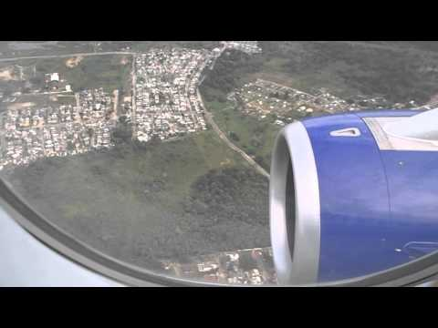 Superjet100 landing and reverse