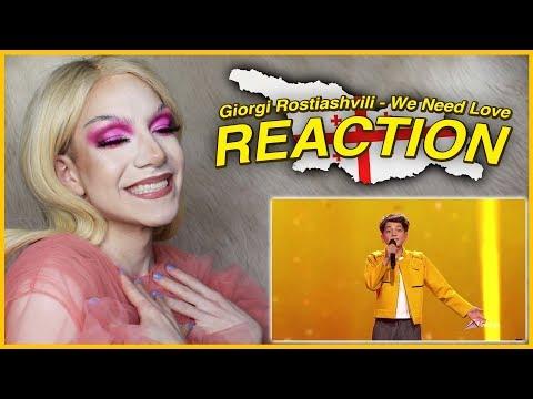 GEORGIA - Giorgi Rostiashvili - We Need Love - LIVE | Junior Eurovision 2019 REACTION