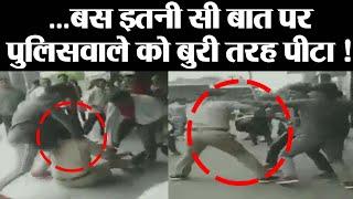 Deoria में दो युवकों ने GRP Constable को बुरी तरह पीटा | Viral Video | Uttar Pradesh| वनइंडिया हिंदी