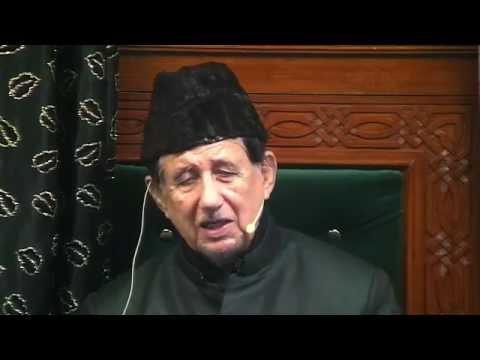 Eve 9th Muharram 1437 - Maulana Dr. Kalbe Sadiq (Urdu)