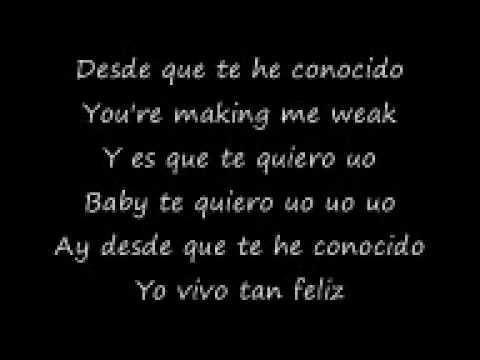 Dj flex te quiero lyrics